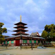 複数回建てかえられた五重塔