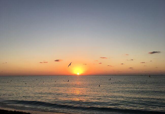 絶景の朝日を見れます