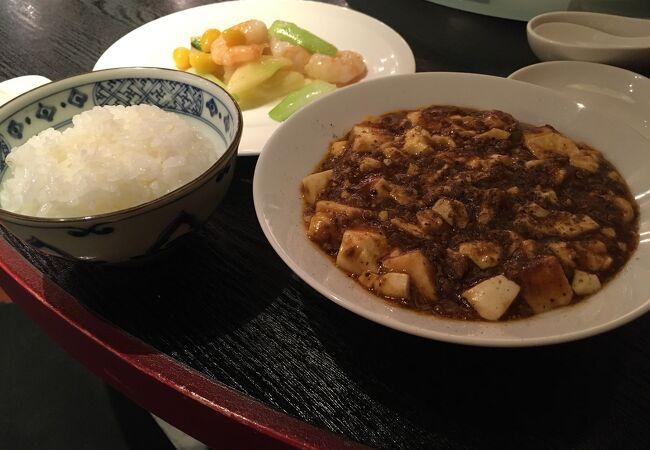 麻婆豆腐ランチがおすすめ