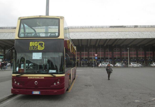 ローマ オープンバスツアー