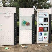 JR蒲田駅の近くにある複合施設です