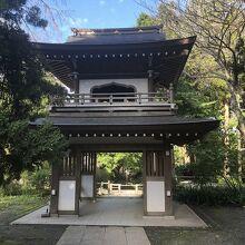 浄智寺 山門 (鐘楼門)