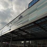 熱海駅に併設された商業施設
