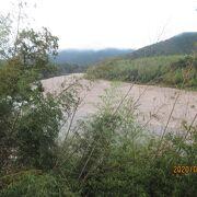 南予地方の水を支える川です