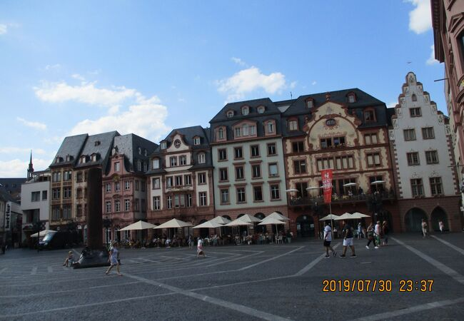 旧市街の中心