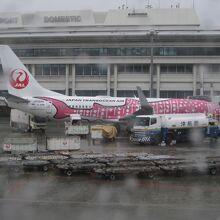 機体の絵柄がかわいい。