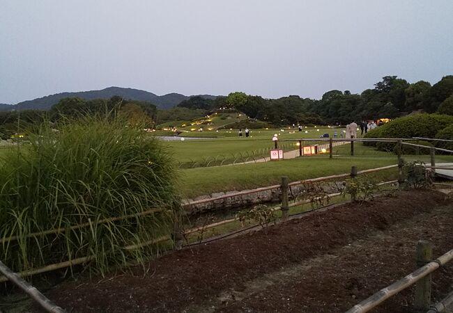 岡山後楽園 幻想庭園