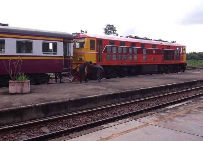 国際列車 (タイ~ラオス間)