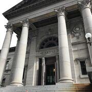 1904年竣工の建物は重要文化財に指定されています