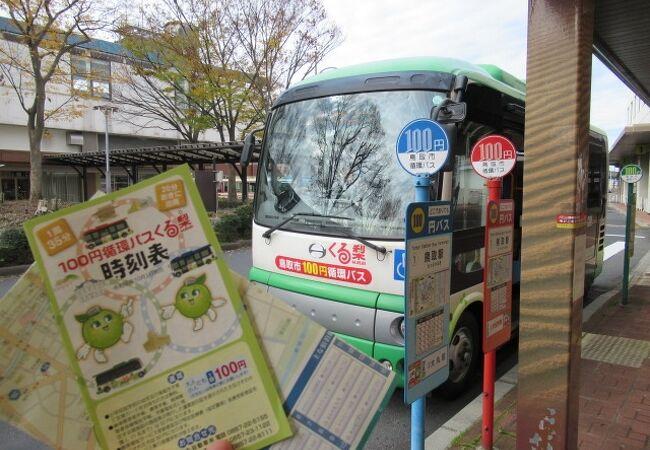 鳥取市100円循環バス「くる梨」