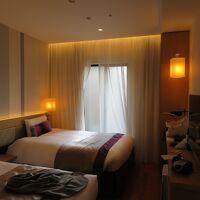 ツインの部屋は、少し狭い。やはりビジネスホテルのカテゴリーか