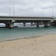 市街地から一番近いビーチ