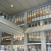 巨大な商業施設