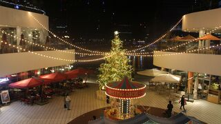 クリスマス・ツリーを見れました
