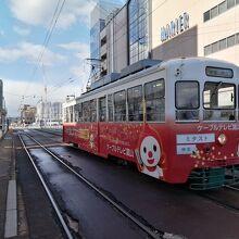 電鉄富山駅・エスタ前停留場