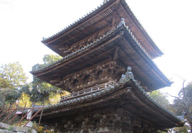 安土城跡にある寺院