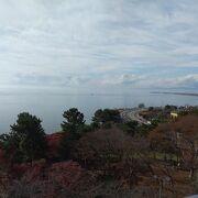 琵琶湖の眺めは絶景です