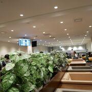 博多空港のラウンジ