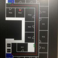 905号室は9階では狭い方