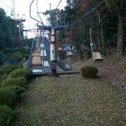 松山城に登るのはロープウェイ、リフトもいい