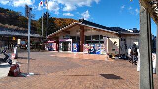 諏訪湖や周辺を見渡せる素晴らしいSA