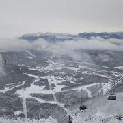 パウダーランが楽しみやすいスキーリゾート
