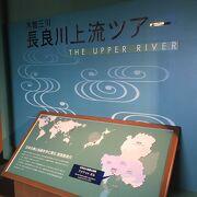 長良川を学べます