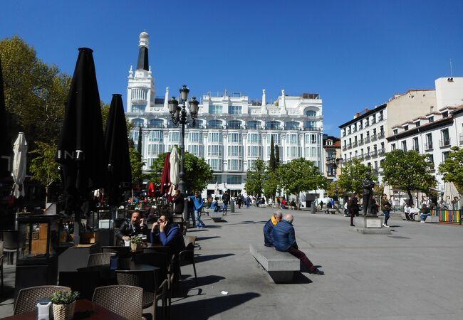 長方形の広場