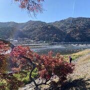 嵐山といえば渡月橋
