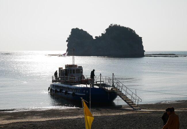 海底観光グラスボート