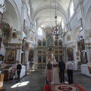 1642年に建てられた教会が現存してます。