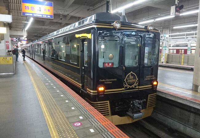 リーズナブルかつ快適な特急列車です。