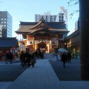 小さいが立派な神社
