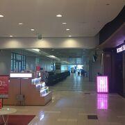 グアム空港の免税店です。