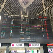 成田空港の国際線