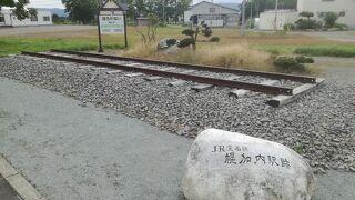 JR深名線幌加内駅跡