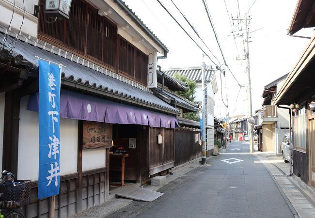 下津井の街