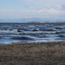 琵琶湖の景色