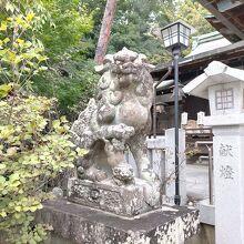 芦屋神社(狛犬)