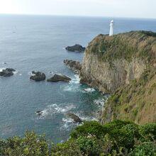 足摺岬の眺め