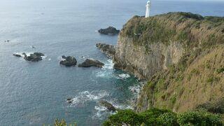 太平洋を一望できる岬