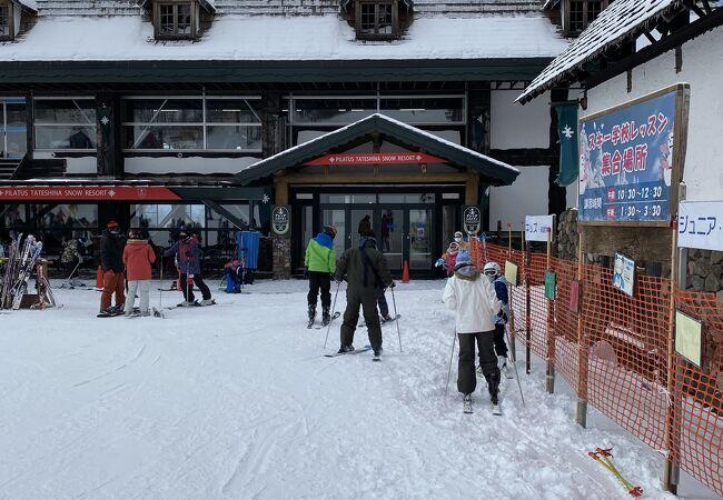 ピラタス蓼科スノーリゾートスキー場