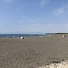 昨年は静かだった真夏のサザンビーチ
