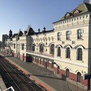 シベリア鉄道の終着駅