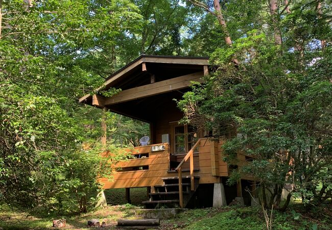 山中湖でのびのびアウトドアライフが楽しめる施設!