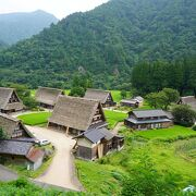 五箇山の世界遺産登録は相倉合掌造り集落とこの菅沼合掌造り集落の二つです