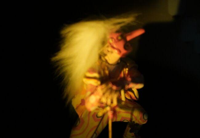 五箇山の民謡をモチーフにしたジオラマ展示