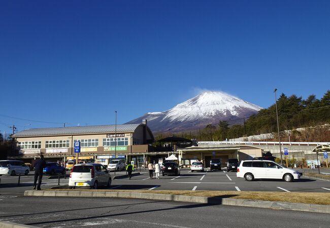 富士山の伏流水を汲める道の駅 (道の駅 すばしり)