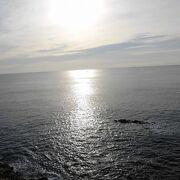 年末の穏やかな太平洋を望みました