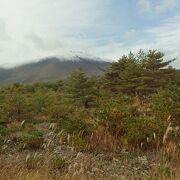 浅間山を望みながらのドライブ